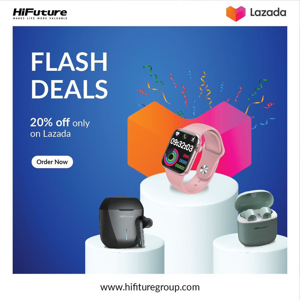 Shop with HiFuture & Get 20% Discount on LAZADA Singapore