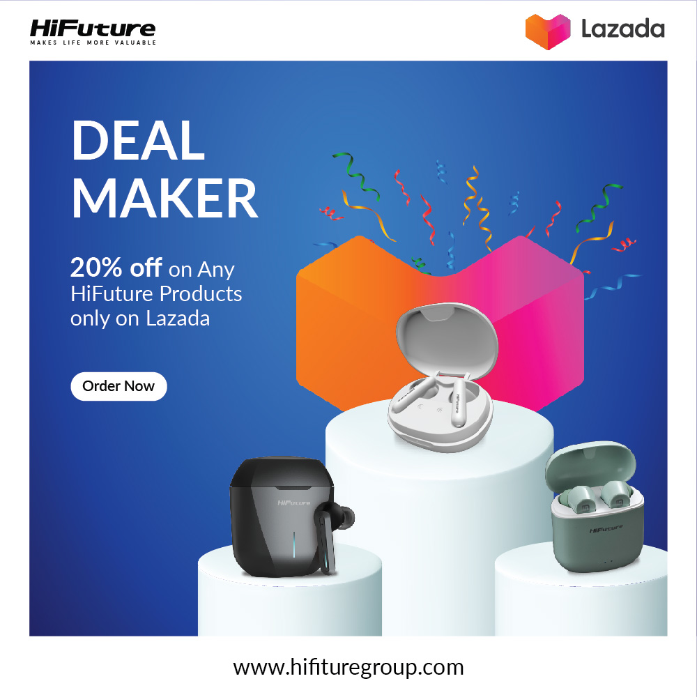 Shop with HiFuture & Get 20% Discount on LAZADA Thailand